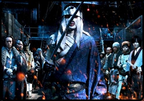 るろうに剣心、京都大火編の志々雄真実が壮絶すぎる!眼が凄い!
